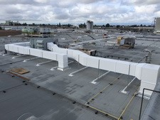 Commercial Sheet Metal Contractor Project: Ghirardelli Chocolate Company's warehouse in San Leandro, CA