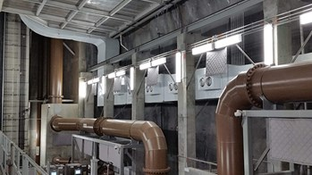Industrial Sheet Metal Project: HVAC system for the Easterly Tunnel Dewatering Pump Station in Cleveland, OH