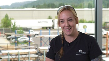 Sheet Metal & HVAC Industry Career Reviews: Get to know Charissa, an architectural panel foreman for General Sheet Metal